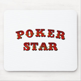 Poker Star Mouse Pad