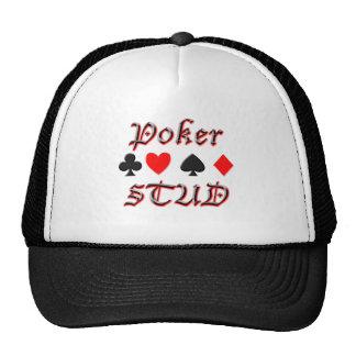 Poker Stud Mesh Hat