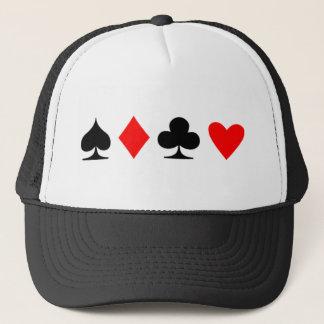 Poker Suite Trucker Hat