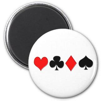 Poker Suits Magnet