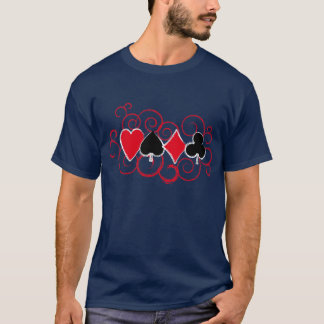 Poker Swirls T-Shirt