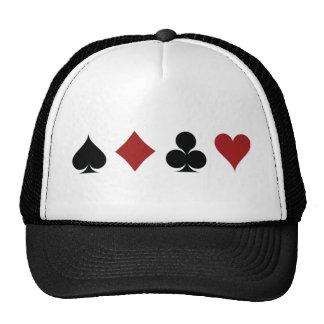 Poker Symbols Cap
