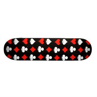 Poker Symbols Skate Boards