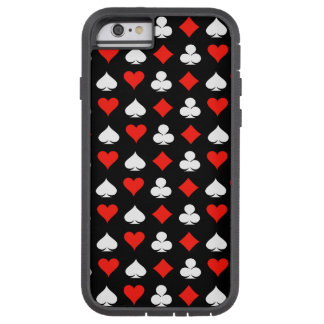 Poker Symbols Tough Xtreme iPhone 6 Case