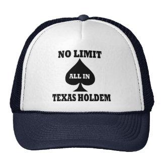 Poker - Texas Holdem Cap