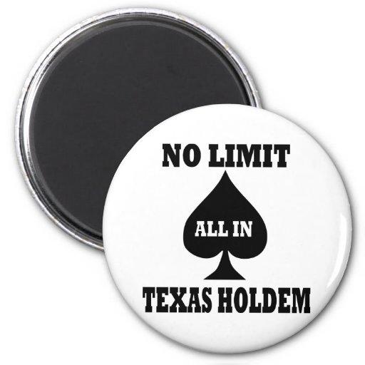 Poker - Texas Holdem Magnet