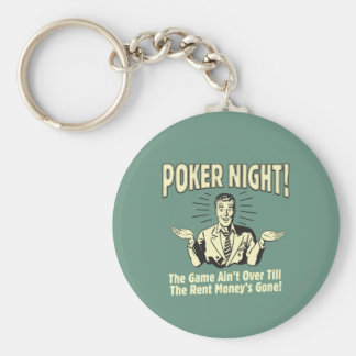 Poker: The Game Ain't Over Key Chain