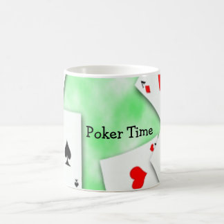 Poker Time Coffee Mug