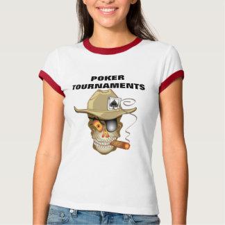 POKER TOURNAMENTS TEE SHIRTS
