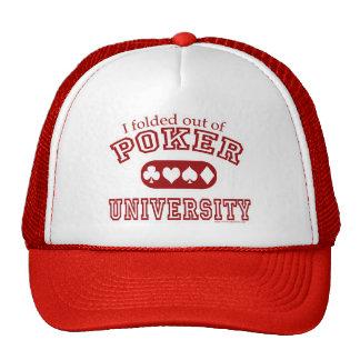 Poker University Hat
