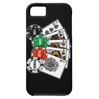 Poker v1 tough iPhone 5 case
