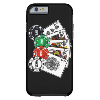 Poker v1 tough iPhone 6 case
