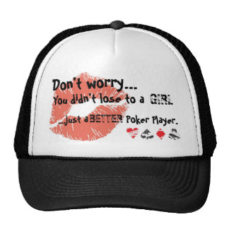 pokergirl cap