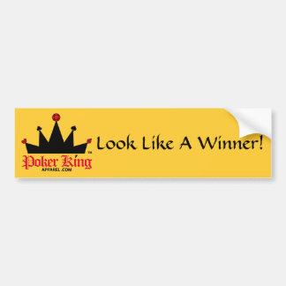 PokerKingAppaDST Look Like A Winner! Bumper Sticker