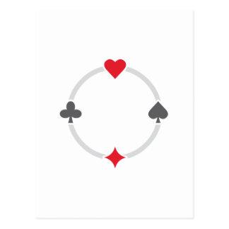 Pokersigns Postkarten
