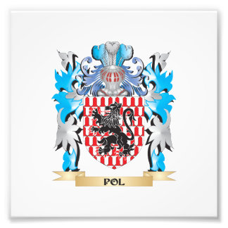 Pol Coat of Arms - Family Crest Photo Print