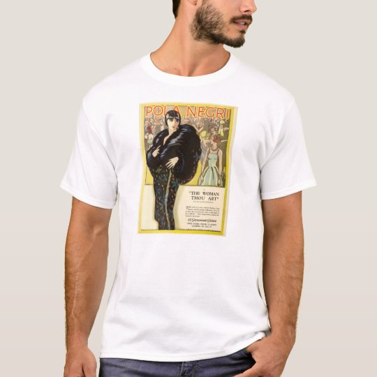 Pola Negri 1926 silent movie exhibitor ad T-Shirt
