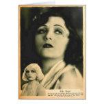 Pola Negri 1928 glamour portrait Greeting Cards