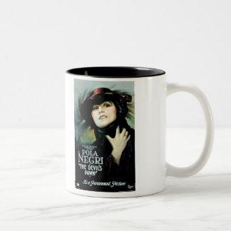 Pola Negri Devil's Pawn movie poster Two-Tone Mug