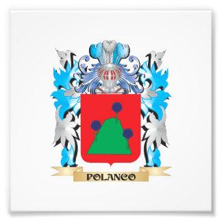 Polanco Coat of Arms - Family Crest Photo Print