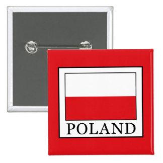 Poland 15 Cm Square Badge