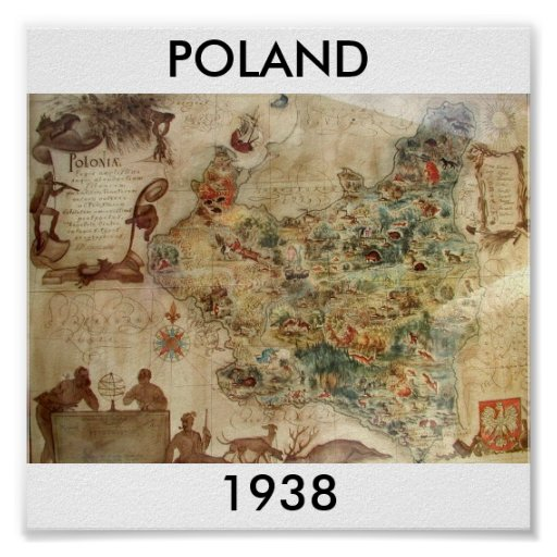 POLAND 1938 PRINT
