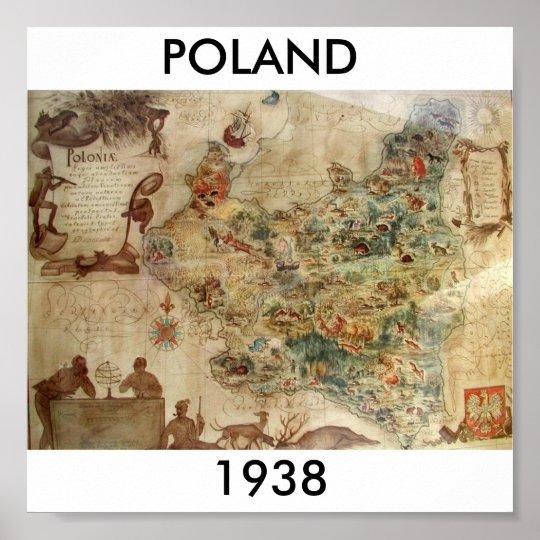 POLAND 1938 POSTER