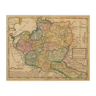 Poland 6 2 wood print