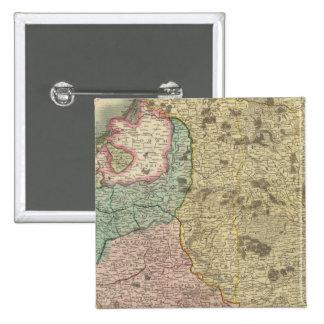 Poland 7 15 cm square badge