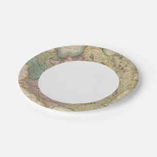 Poland 7 paper plate