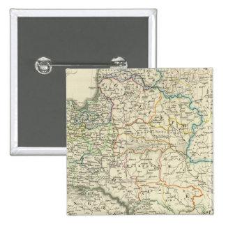 Poland and Lithuania 1386-1572 15 Cm Square Badge