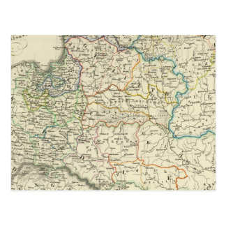 Poland and Lithuania 1386-1572 Postcard