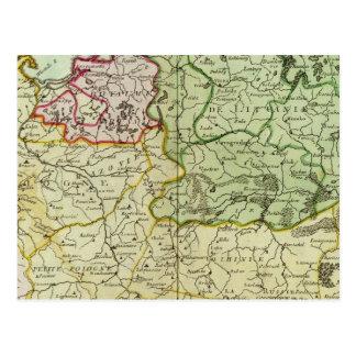 Poland and Lithuania Postcard