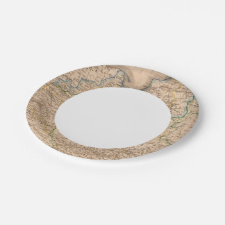 Poland and Russia 7 Inch Paper Plate