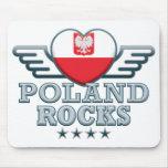 Poland B Rocks v2 Mousemats