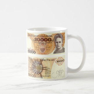 Poland Banknote 20000 zloty Coffee Mug