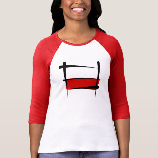 Poland Brush Flag T-Shirt
