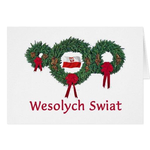 Poland Christmas 2 Greeting Cards