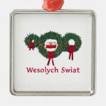 Poland Christmas 2 Christmas Tree Ornament