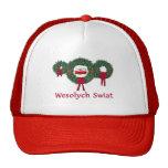 Poland Christmas 2 Mesh Hat