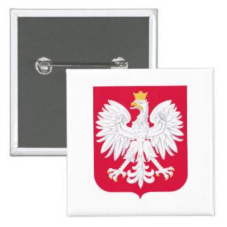 Poland Coat of Arms 15 Cm Square Badge