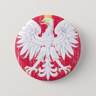 Poland Coat Of Arms 6 Cm Round Badge