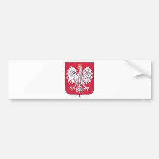 Poland coat of arms bumper sticker