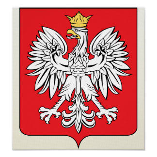 Poland Coat of Arms detail Poster