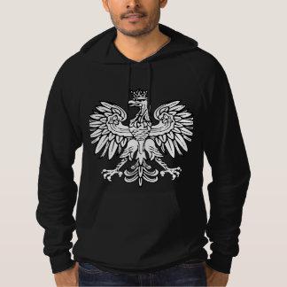 Poland Coat of Arms Fleece Hootie Hoodie