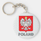 Poland Coat of Arms Key Ring
