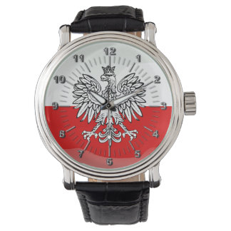 Poland Coat of Arms Wristwatches