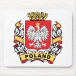 Poland Crest Mouse Mats