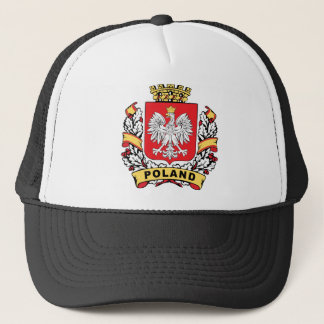 Poland Crest Trucker Hat