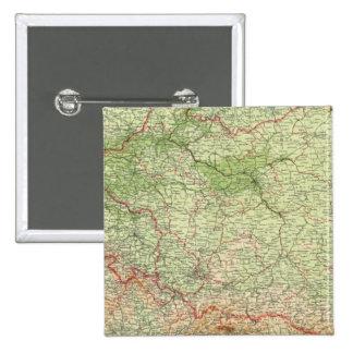 Poland & CzechoSlovakia 15 Cm Square Badge